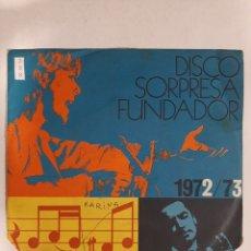 Discos de vinilo: MV398 DISCO SORPRESA KARINA - MINI VINILO DE SEGUNDAMANO. Lote 297236323
