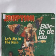 Discos de vinilo: MV399 ERUPTION BILLETE DE IDA - MINI VINILO DE SEGUNDAMANO. Lote 297236483