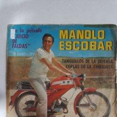 Discos de vinilo: MV401 MANOLO ESCOBAR JUICIO DE FALDAS- MINI VINILO DE SEGUNDAMANO. Lote 297236638