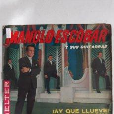 Discos de vinilo: MV403 MANOLO ESCOBAR Y SUS GUITARRAS - MINI VINILO DE SEGUNDAMANO. Lote 297236818
