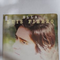 Discos de vinilo: MV408 ELLA LUIS FIERRO- MINI VINILO DE SEGUNDAMANO. Lote 297237303