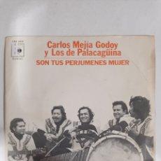 Discos de vinilo: MV410 CARLOS MEJÍA GODOY Y LOS DE PALACAGÜINA - MINI VINILO DE SEGUNDAMANO. Lote 297237478