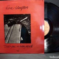 Discos de vinilo: ERIC CLAPTON LP THERE'S ONE IN EVERY CROWD RSO SPAIN 1975 PEPETO. Lote 297259693
