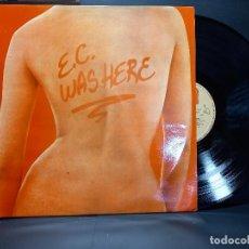 Discos de vinilo: ERIC CLAPTON.WAS HERE. LP RSO SPAIN 1978 PEPETO. Lote 297260108