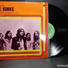 Discos de vinilo: THE KINKS - LO MEJOR DE - SPAIN - RCA LINEA TRES 1978 PEPETO. Lote 297260743