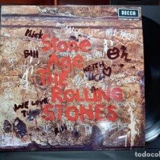 Discos de vinilo: ROLLING STONES ( STONE AGE) LP ESPAÑA 1971 SKL 5084 DECCA PEPETO. Lote 297265403