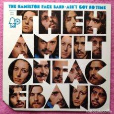 Discos de vinilo: LP THE HAMILTON FACE BAND - AIN'T GOT NO TIME - BELL 6042 - US PRESS (VG/NM). Lote 297267058