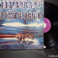 Discos de vinilo: DEEP PURPLE MACHINE HEAD FAME LP GATEFOLD SPAIN 1972 064-093.261 EMI PEPETO. Lote 297267383