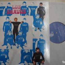 Discos de vinilo: LOS BRAVOS - ILUSTRISIMOS BRAVOS - REEDICION 180 G. Lote 297277398
