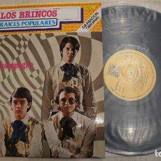 Discos de vinilo: LOS BRINCOS - RAICES POPULARES - 1980. Lote 297279343