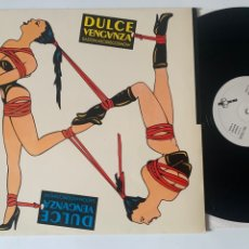 Discos de vinilo: LP DULCE VENGANZA SADO MASO DISCO SHOW DE 1984. Lote 297344798