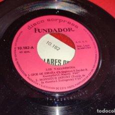 Discos de vinilo: LOS VALLDEMOSA OJOS DE ESPAÑA/MONSIEUR DUPONT +2 EP 7'' 1969 FUNDADOR 10182. Lote 297352063