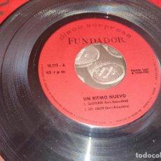Discos de vinilo: UN RITMO NUEVO CASATSCHOK/SIMEON/LA LLUVIA/CORAZON CONTENTO EP 7'' 1968 FUNDADOR 10173. Lote 297352553
