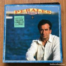 Discos de vinilo: JOSÉ LUIS PERALES - AMÉRICA - LP CBS 1991. Lote 297354153