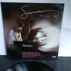 Discos de vinilo: SANDRO, ROMÁNTICO, BELTER, 1981. Lote 297361698