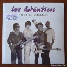 Discos de vinilo: LOS AUTENTICOS : POLVO DE ESTRELLAS - LP NUEVO Y PRECINTADO + 3 CD + LIBRO 56 PAGINAS - 2016 LEMURIA. Lote 297366278