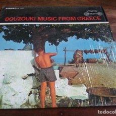 Discos de vinilo: BOUZOUKI MUSIC FROM GREECE - LP ORIGINAL LONDON HECHO EN USA BUEN ESTADO. Lote 297371883
