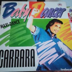 """Discos de vinilo: CARRARA – BABY DANCER .1987.SELLO: METROPOL RECORDS – MRP 106-MX .(12"""").NUEVO. MINT / NEAR MINT. Lote 297394093"""