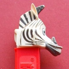 Dispensador Pez: DISPENSADOR DE CARAMELOS PEZ - CEBRA. Lote 39927202