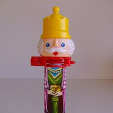 Dispensador Pez: DISPENSADOR DE CARAMELOS AU´SOME INC. REY (NO PEZ). Lote 52331706