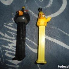 Dispensador Pez: LOTE DISPESADOR PEZ ANGRY BIRD. Lote 76509635