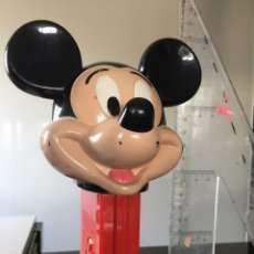 Dispensador Pez: DISPENSADOR CARAMELOS PEZ GIGANTE MICKEY MOUSE. Lote 98488752