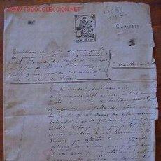 Documentos antiguos: ESCRITURA DE VENTA, 1915. Lote 7591444
