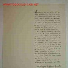 Documentos antiguos: DOCUMENTO SOBRE RECAUDADORES DE LA CASA REAL, 1822. Lote 2247854