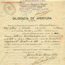 Documentos antiguos: ANTIGUO Y RARISIMO DOCUMENTO DE ALICANTE. Lote 27206515