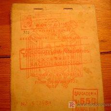 Documentos antiguos: COLECCION DE CUPONES EXCEDENTE RACIONAMIENTO. Lote 13191534