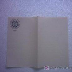 Documentos antiguos: CUÑO TIMBRE CARLISTA REQUETE DE 1909 (VALENCIA). Lote 27572697