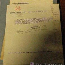 Documentos antiguos: DOCUMENTO TAMAÑO CUARTILLA, ASCENSO 1930. Lote 5999223