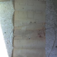Documentos antiguos: ARQUITECTURA MANUSCRITO .ALICANTE PLANO DE FINCA 1949-V. VIDAL.TOPOGRAFO-MANUSCRITO.DENTRO FOTO . Lote 27398711