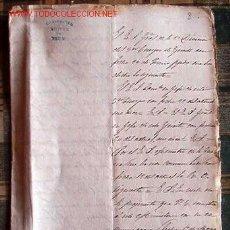 Documentos antiguos: RELACIÓN DE ASCENSOS Y CONCESIONES DE MEDALLAS POR LA DEFENSA DE IRÚN,... . Lote 16841377
