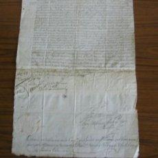 Documentos antiguos: DOCUMENTO 1774 .. TITULO DE COLLACION DE LA CAPPª QUE FUNAO …… SELLO HUECO GRABADO. Lote 16337950