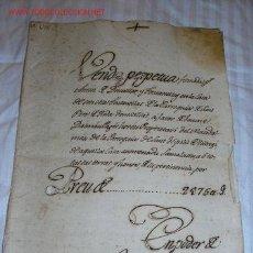 Documentos antiguos: SANT HIPOLIT DE VOLTREGA / SANT PERA DE RODA (BARCELONA). Lote 11172294