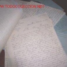 Documentos antiguos: LOTE DE CORRESPONDENCIA Y TELEGRAMAS DE 1927. Lote 7576308