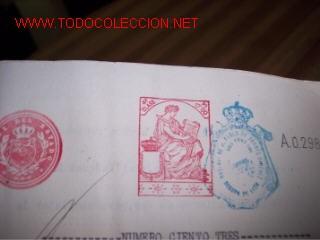 ESCRITURA DE VENTA DE INMUEBLE RUSTICO - 1930 (Coleccionismo - Documentos - Otros documentos)