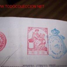 Documentos antiguos: ESCRITURA DE VENTA DE INMUEBLE RUSTICO - 1930. Lote 7287810