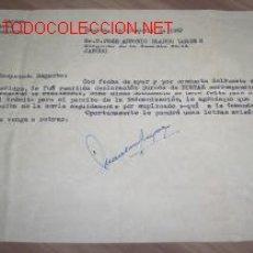 Documentos antiguos: CARTA 1962 HUELVA - JABUGO - SIN SOBRE. Lote 2646398