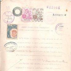 Documentos antiguos: PODER NOTARIAL. VALENCIA 1945. TIMBRADO.. Lote 11024122