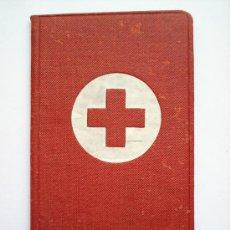 Documentos antiguos: CARNET CRUZ ROJA ESPAÑOLA-1948 CON FOTO-ESTATUTOS Y REGLAMENTO. Lote 26740000