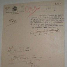 Documentos antiguos: DOCUMENTO REGIMIENTO DE INFANTERIA CADIZ Nº 27. Lote 10589554