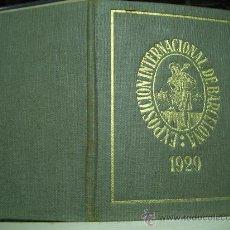 Documentos antiguos: CARNET EXPOSICION UNIVERSAL DE BARCELONA 1929. Lote 16802676