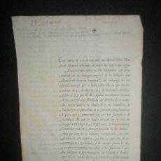 Documentos antiguos: REAL ORDEN DILIGENCIAS A LOS SOLDADOS QUE OBTUVIERON LICENCIA TEMPORAL Y NO SE HAN PRESENTADO-1797-. Lote 24198780