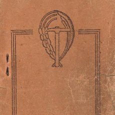 Documentos antiguos: CARNET CENTRAL NACIONAL SINDICALISTA DE TORNERO GIJON ASTURIAS FALANGE. Lote 24041760