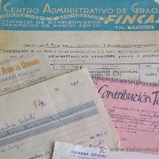 Documentos antiguos: **LOTE DE DOCUMENTOS ANTIGUOS**. Lote 15054156