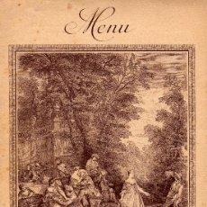 Documentos antiguos: CARTA-MINUTA-MENU-GRAND HOTEL D' ANGLETERRE LOURDES-23 DE JUNIO 1923. Lote 18630350