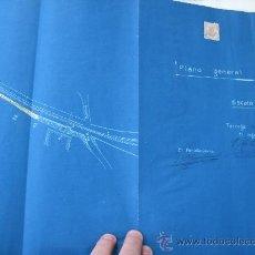 Documentos antiguos: 1919 FERROCARRILES LLEIDA TARREGA.7 LEGAJOS TREN CAMINOS HIERRO NORTE. Lote 27618835