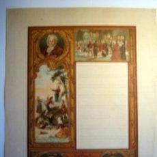 Documentos antiguos: DIPLOMA EN BLANCO - GOYA. Lote 26673537
